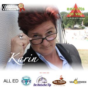fb post sponsors Karin met naam